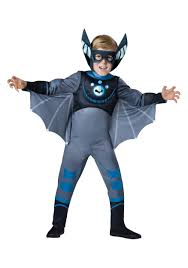 wild kratts blue bat costume
