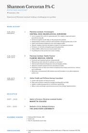 Physician Assistant Resume Templates Physician Resume Sles Visualcv Resume Sles Database