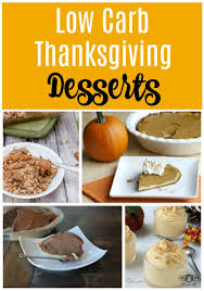 low carb thanksgiving desserts a permanent health kick