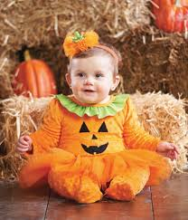 Pumpkin Pie Halloween Costume Fashion Kids