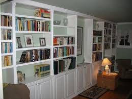 bookcase design exciting long low bookshelf bookcase with doors