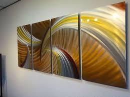 metal wall art modern home decor abstract sculpture brown
