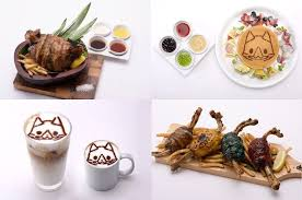 monter cuisine capcom opens its directly operated character cafe with