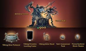 smite halloween chest viking invasion event smite hq