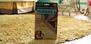 Corner Rug Grippers Ruggies Antislip Rug Gripper Product Review Today U0027s Homeowner