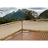 amazon com alion home elegant privacy screen for backyard deck