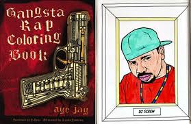 gangsta coloring pages bust out the rhymes and crayons with the gangsta rap coloring book