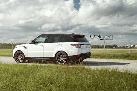 matte white range rover range rover sport velgen wheels vmb9 matte gunmetal 22x10 5