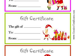 printable christmas gift vouchers 44 gift voucher certificate template free gift certificate template