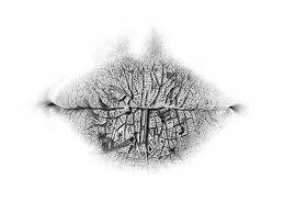 surreal pencil drawings of lips designwreck
