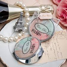 Themed Favors by Pretty Themed Mirror Compact Favor Bridal Shower