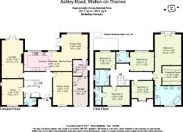 5 bedroom detached house for sale in ashley road walton on thames