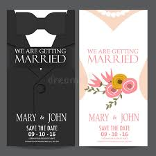 groom to wedding card and groom wedding invitation card stock vector