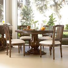 paula deen river house 5 piece round dining table set with pull up