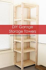 diy storage shelves howto build tall garage storage shelves towers storage and tower