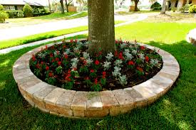 Landscaping Ideas Around Trees Pictures by Garden Stone Decoration Ideas