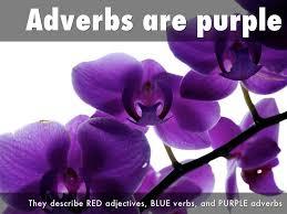 different color purples parts of speech color coding by jennifer ohana