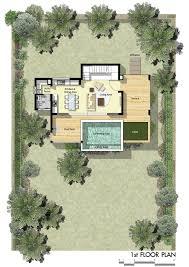 Infinity Floor Plans by Villa Cassia 2 Bedrooms Saitara Peak Chaweng Noi Koh Samui