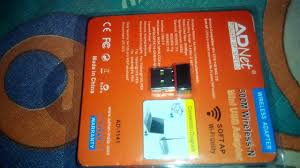 how to install adnet wireles wifi adapter on pc youtube
