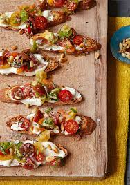 ina garten tomato ina garten s tomato crostini with whipped feta recipe barefoot