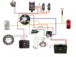 simplified wiring diagram for xs400 cafe motorcycle wiring