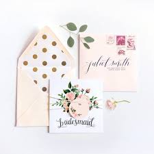 bridesmaid cards bridesmaid cards archer and olive