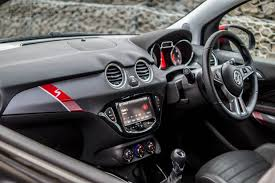opel astra interior 2017 vauxhall adam s review carwitter