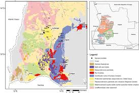 Angola Africa Map by New U U2013pb Shrimp Ages From The Lubango Region Sw Angola Insights