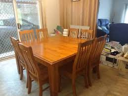 round table woodside rd 8 seater square dining table dining tables gumtree australia