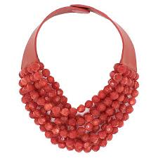 red big necklace images Bella ferrari red necklace fairchild baldwin jpg