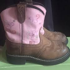 justin light up boots justin boots other justin light up sparkle boot size one poshmark