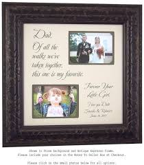 personalized picture frames father of the bride gift father u0027s
