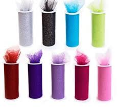 spools of tulle sale 9 glitter tulle rolls each one 6 by 30 ft