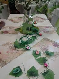 Baby Shower Table Setup by Garden Of Eden Theme Baby Shower Table Setup Tip I Used 12 X 12