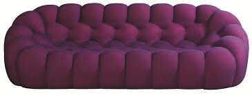 bubble 3 seater sofa bubble collection by roche bobois design
