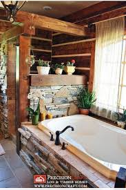 Log Cabin Bathroom Decor by