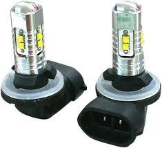 rivco 881 led 12v universal motorcycle spotlight bulbs harley