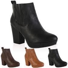 womens boots block heel chelsea boots heel with luxury picture in uk sobatapk com