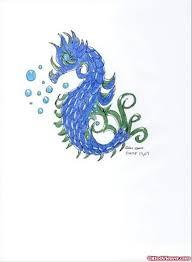 black seahorse tattoo design tattoo viewer com
