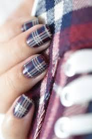 nailstorming assortie à mes chaussures plaid nail art video