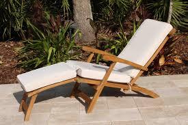 Sunbrella Rocking Chair Cushions Sale Sunbrella Fabric Steamer Cushion Oceanic Teak Furniture