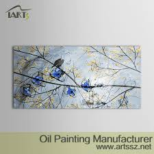 Birds Home Decor Abstract Painting Iarts Professional Wall Supplier