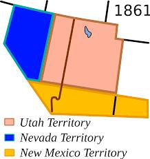 Las Vegas New Mexico Map by Nevada Territory Wikipedia