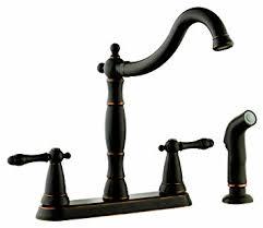 kitchen faucets rubbed bronze finish design house 523233 oakmont 2 handle kitchen faucet with side