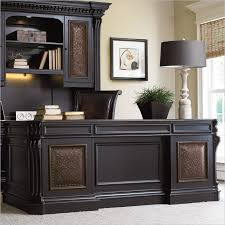 impressive black executive desk home office furniture riverside