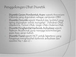 Obat Hct diuretik dan komposisi cairan tubuh ppt
