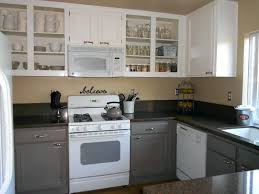 How To Seal Painted Kitchen Cabinets Sloan Chalk Paint Kitchen Cabinets Before And After Sealing