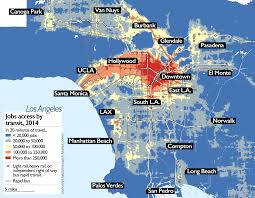 El Train Chicago Map by Los Angeles Bus Service Declined As Rail Expanded U2013 Streetsblog Usa
