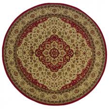 oriental weavers sphinx allure tan with red accents traditional