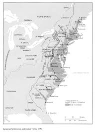 colonial america map vl history united states history colonial era 1500 1750